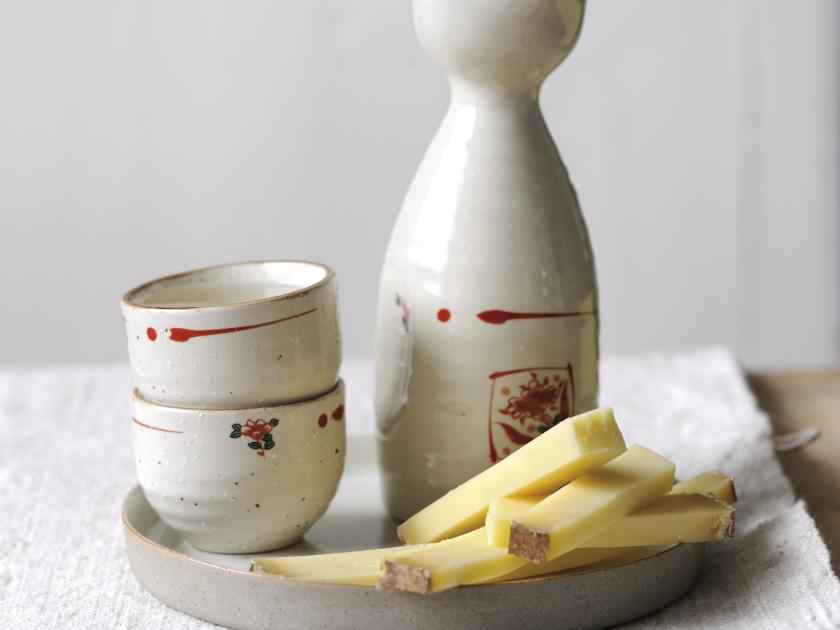 ボフォールと日本酒