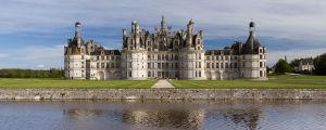 Façade Nord-Ouest du château de Chambord