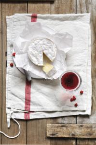 Camembert de Normandie et Beaujolais Fleurie 2011