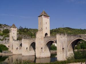 Photo du pont Valentré à Cahors