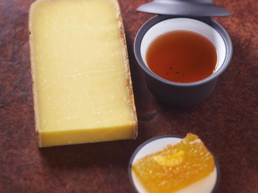 Thé bleu-vert torréfié de Chine