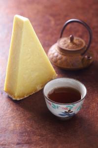 Laguiole friable / thé rouge de Chine