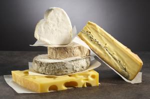 Sélection de fromages pour le mois d'avril