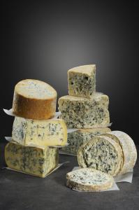 Assortiment de fromages à pâte persillée