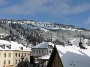 Vue sur le Mont Vouillot depuis Morteau