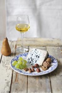 Bleu d'Auvergne & Vin blanc liquoreux Sainte Croix du Mont 2010