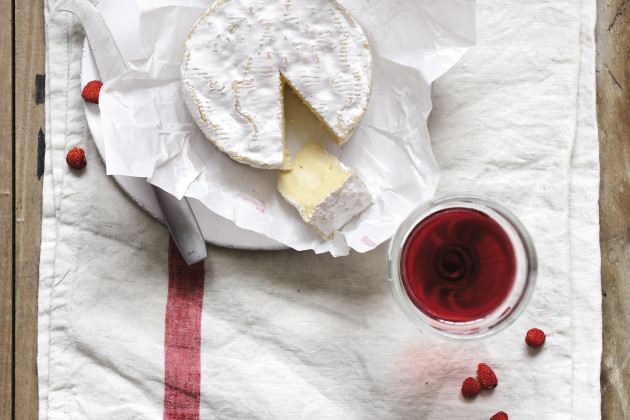 Normandy Camembert & Young Beaujolais Fleurie