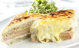 Croque Monsieur, revisited by chef Renato Carioni