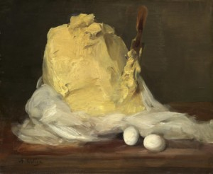 Antoine Vollon - Mound of butter