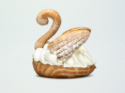 Cygne à la chantilly