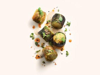 Dolma de choux, beurre aux truffes & Zaatar