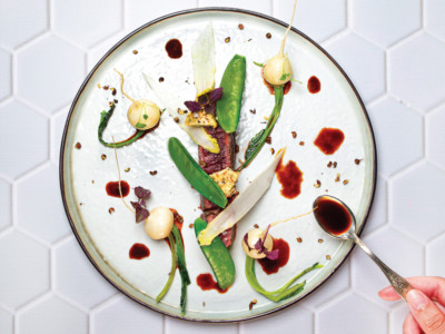 Beef fillet with sichuan pepper