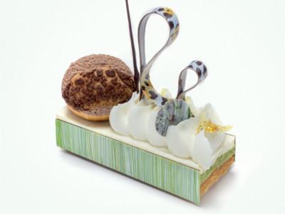 Saint-Honoré chocolat & matcha